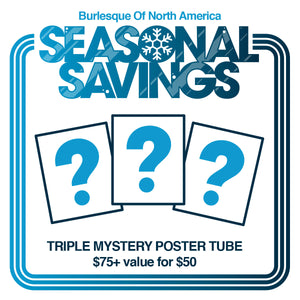 Seasonal Savings: Triple Mystery Poster Tube