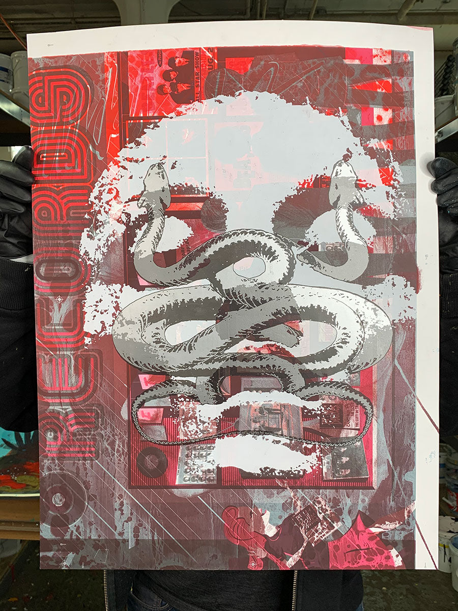 Test Print: Jacob Bannon - Neurosis / Converge