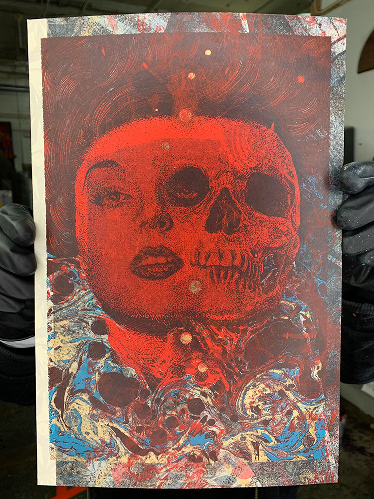 Test Print: Richey Beckett - Lilith (Red)