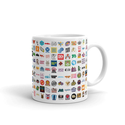 Life In Logos coffee mug