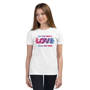 All You Need Is Love Youth T-Shirt