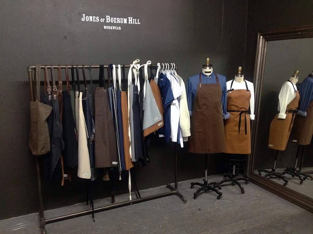Jones of Boerum Hill Apron Showroom