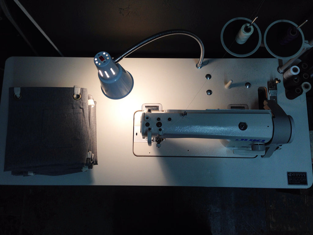Sewing Machine and Jones of Boerum Hill Apron