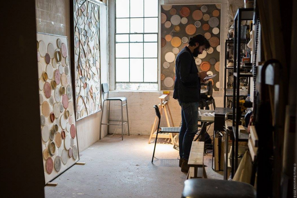 artist studio in brooklyn