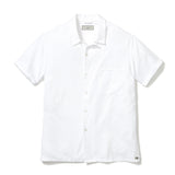 COOK SHIRT, WHITE OXFORD COTTON - Jones of Boerum Hill  - 1