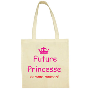 Tote Bag Future princesse jaune