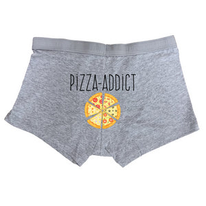 Boxer Pizza Addict gris