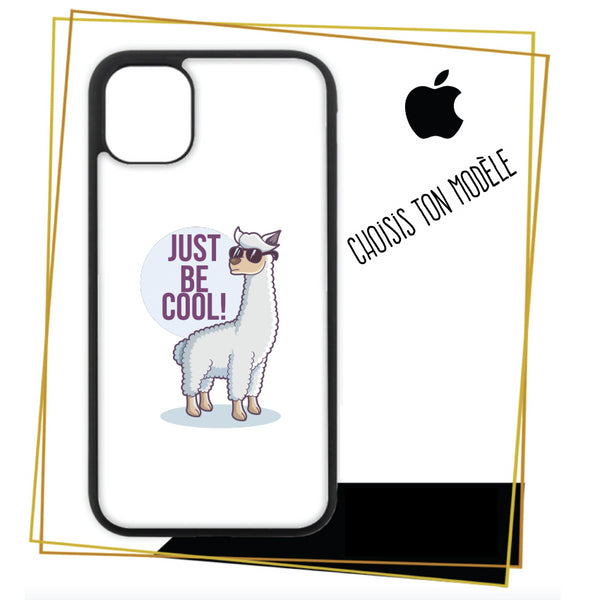 Coque / étuis pour iPhone Lama just be cool