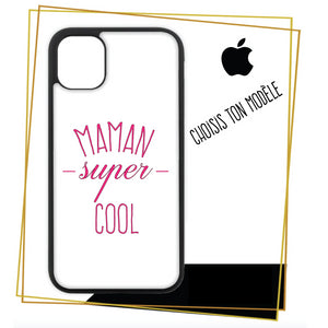 Coque / étuis pour iPhone Maman super cool