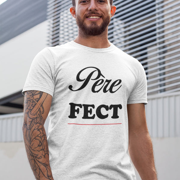 T Shirt Homme Perfect blanc