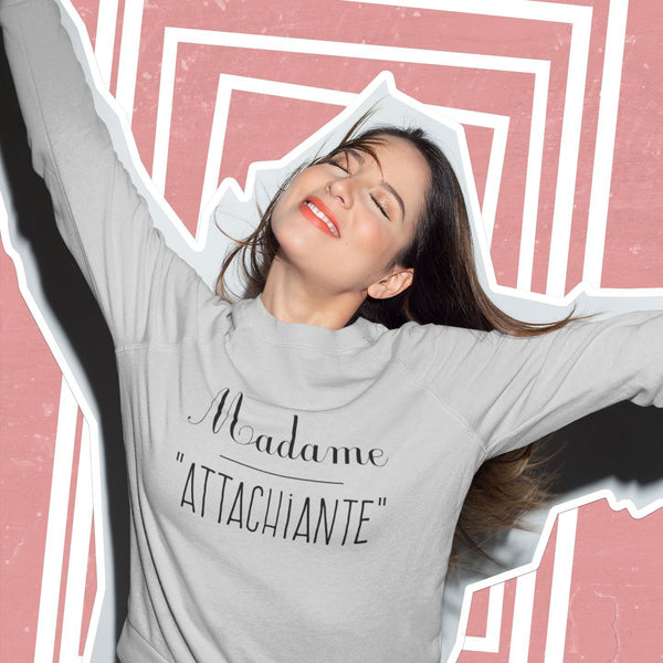 Sweat Femme Attachiante gris