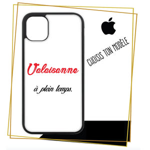 Coque iPhone Valaisanne a plein temps