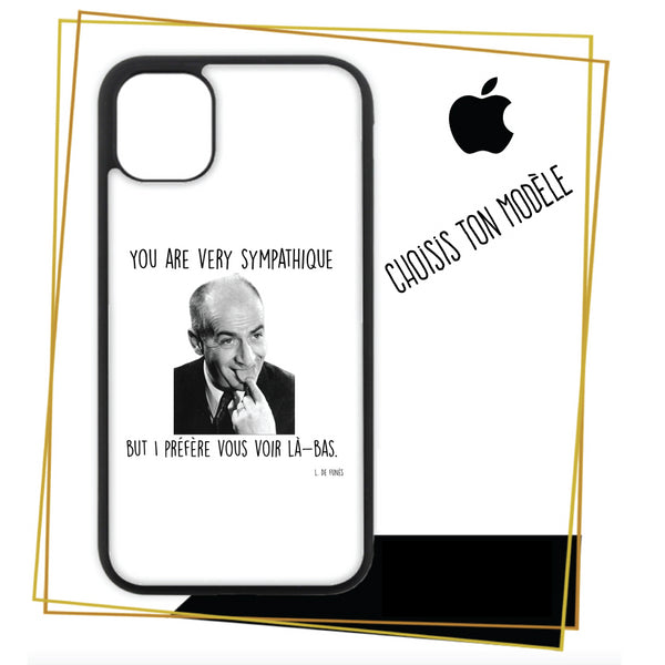 Coque iPhone You are very sympatique