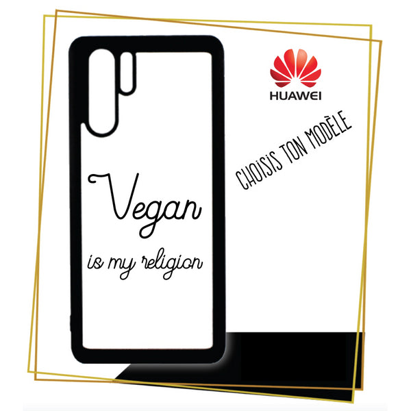 Coque Huawei Vegan is my religion