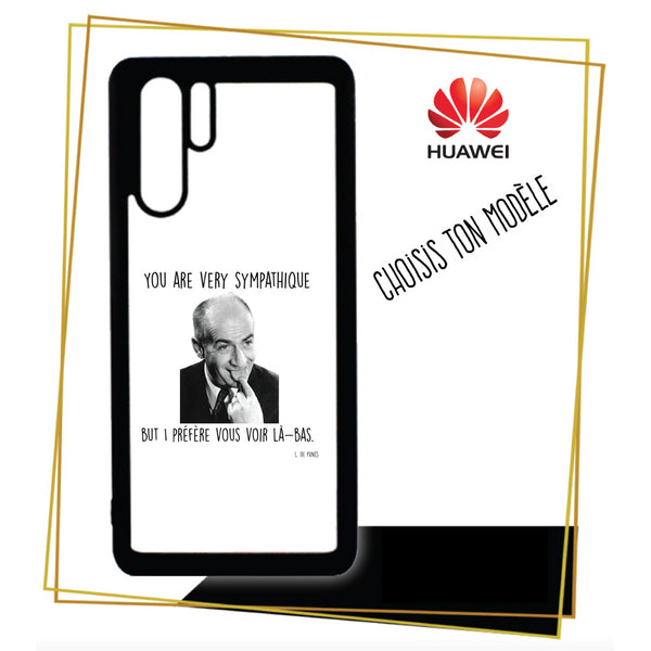 Coque Huawei You are very sympatique