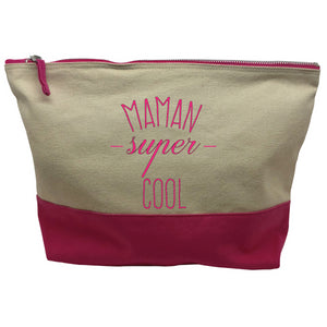 pochette rose Maman super cool