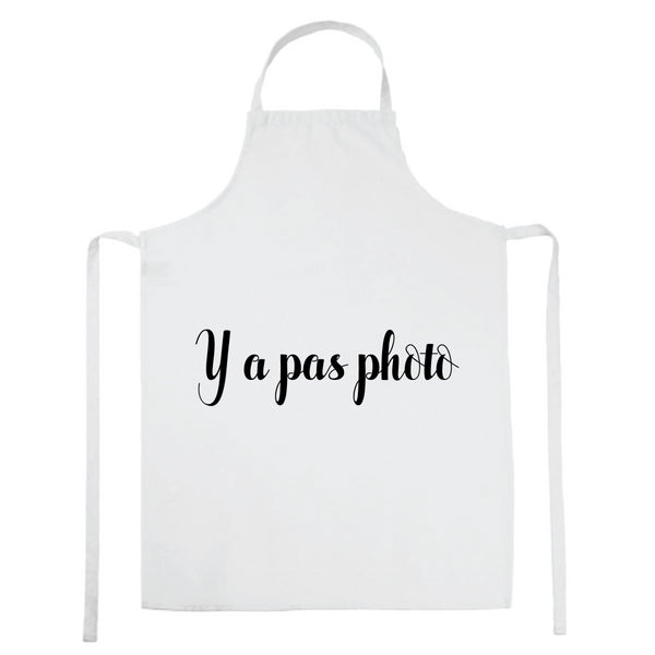 Tablier de cuisine Y a pas photo