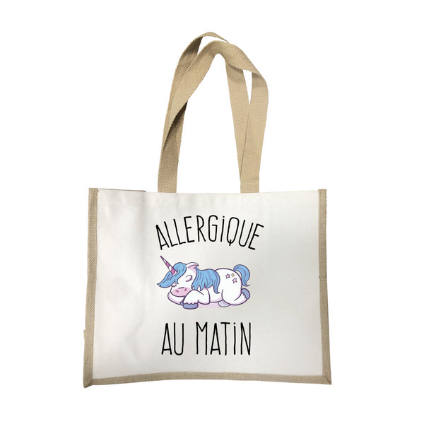 Grand sac Allergique au matin écru