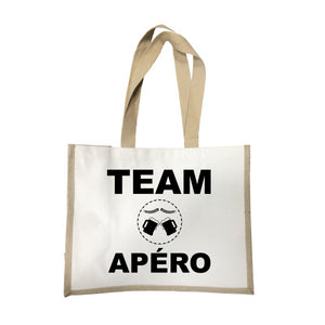 Grand sac Team apero écru