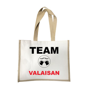 Grand sac Team valaisan écru