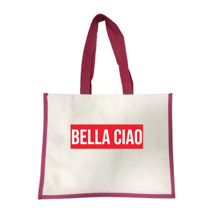 Grand sac Bella Ciao rose