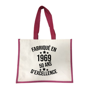 Grand sac Fabrique en 1969 rose