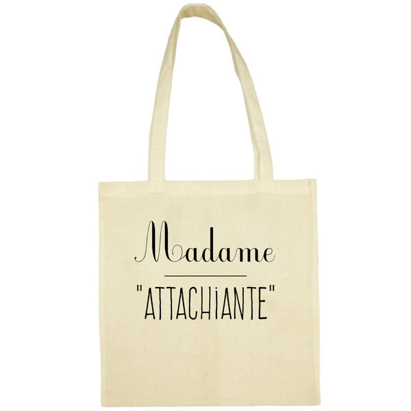 Tote Bag Attachiante écru