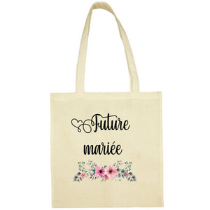 Tote Bag Future mariee écru