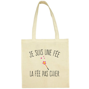 Tote Bag La fee pas chier écru