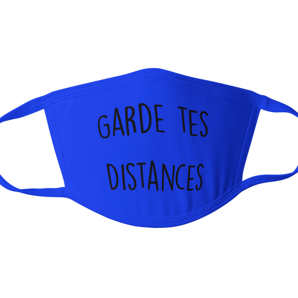 Masque de protection Garde tes distances