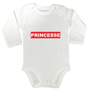 Body manches longues Princesse
