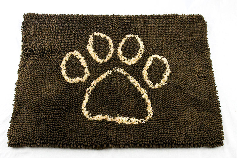 Muddy Buddy Paw Mat - Dark Chocolate