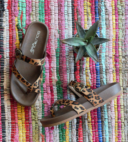 Heavenly Leopard Sandals