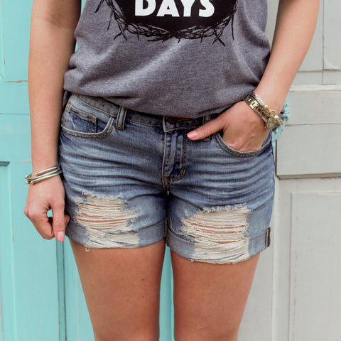 Sexy Boyfriend Denim Shorts