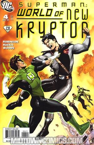 Superman: World of New Krypton # 4