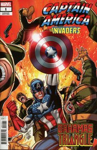 Captain America and the Invaders: Bahamas Triangle # 1c