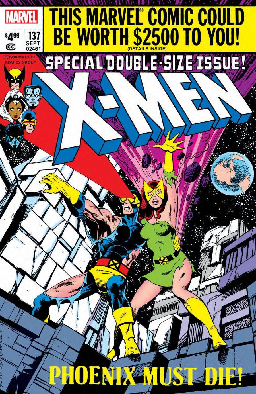 X-Men # 137facsimile