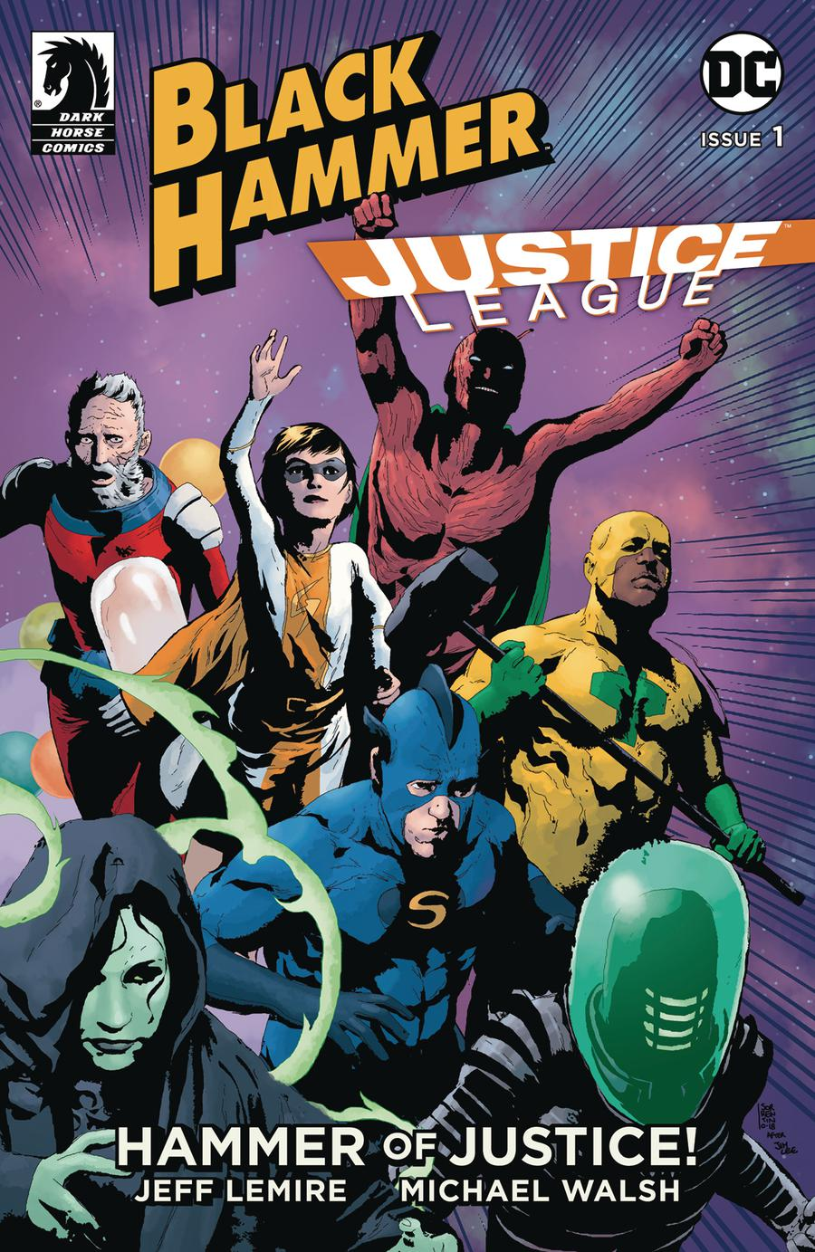 Black Hammer / Justice League: Hammer of Justice # 1b