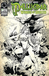 Pellucidar: Wings of Death # 1c