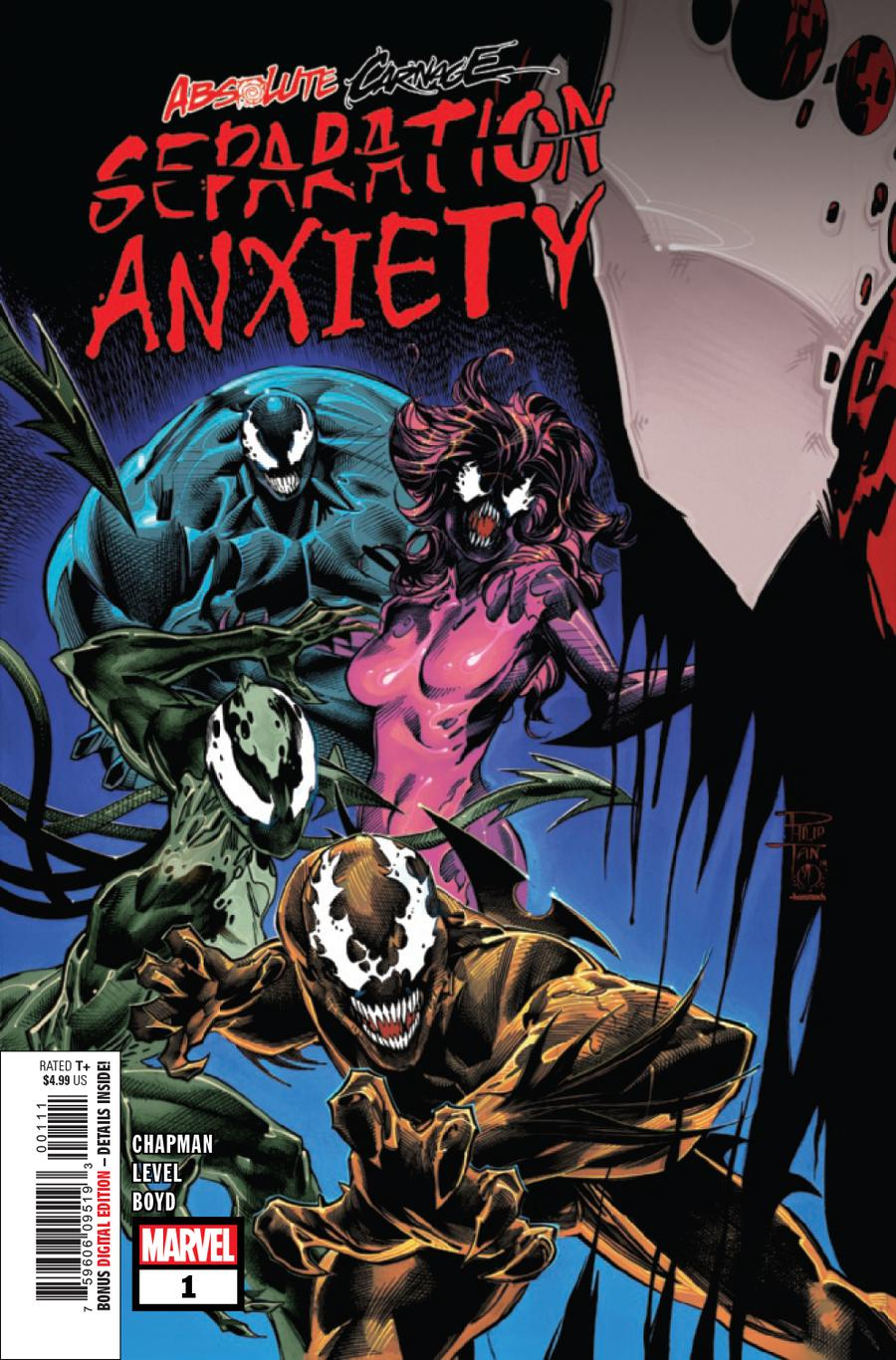Absolute Carnage: Separation Anxiety 	# 1