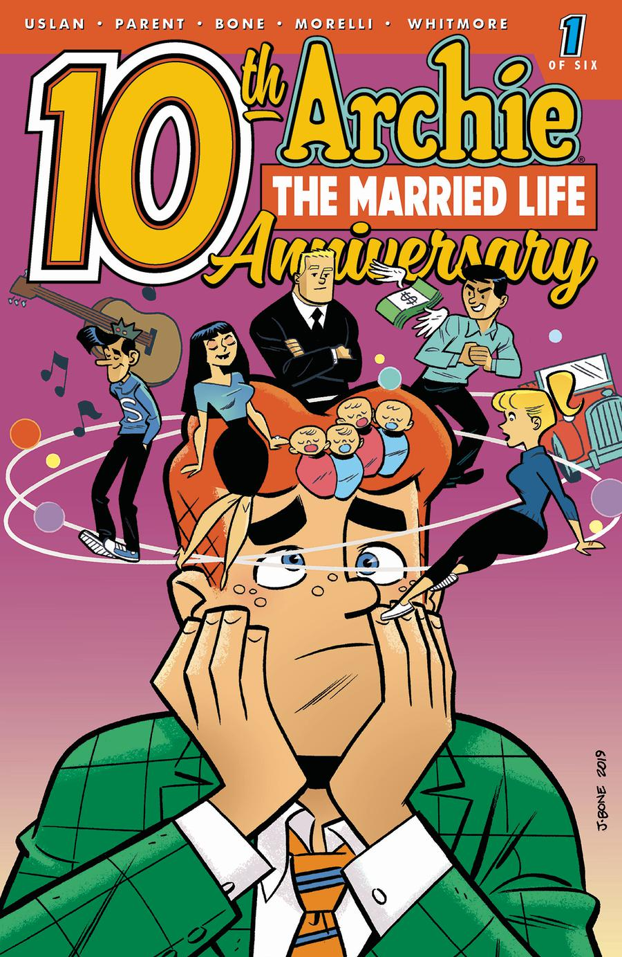 Archie the Married Life: 10th Anniversary # 1b