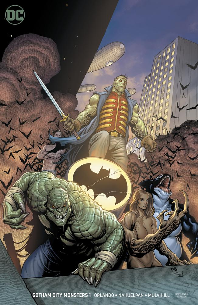 Gotham City Monsters # 1b