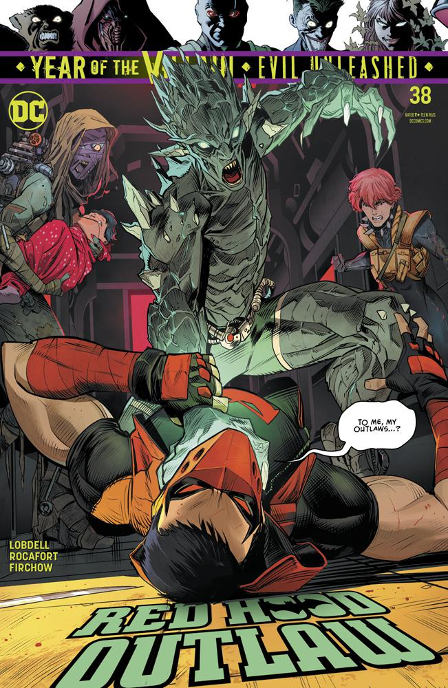 Red Hood: Outlaw # 38