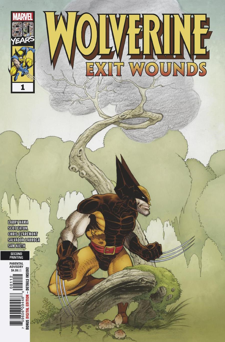 Wolverine: Exit Wounds # 1 - 2nd print