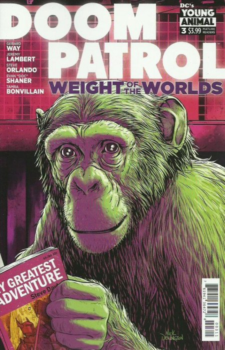 Doom Patrol: Weight of the Worlds # 3
