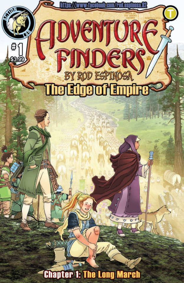 Adventure Finders: Edge of Empire # 1