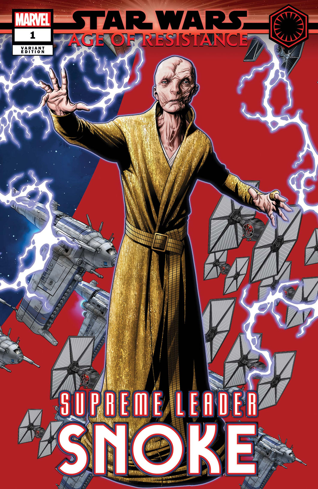 Star Wars: Age of Resistance - Supreme Leader Snoke # 1b