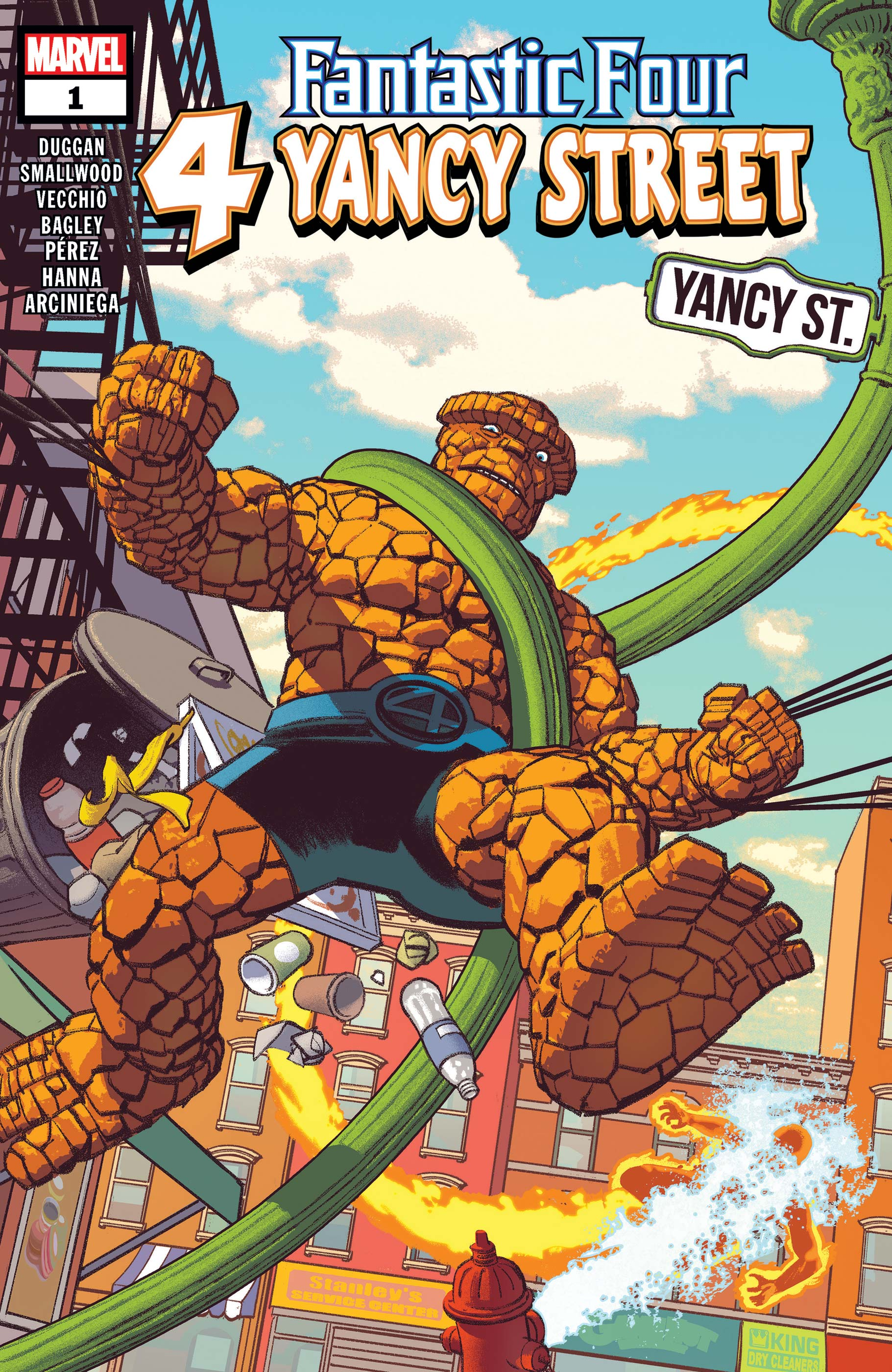 Fantastic Four: 4 Yancy Street # 1