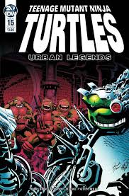 Teenage Mutant Ninja Turtles: Urban Legends # 15b