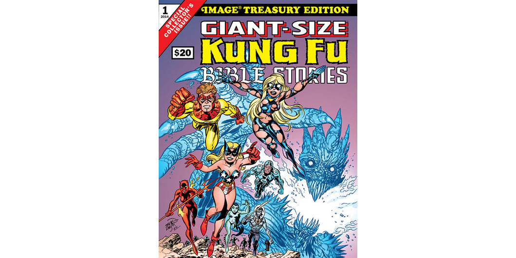 GIANT-SIZE KUNG FU BIBLE STORIES